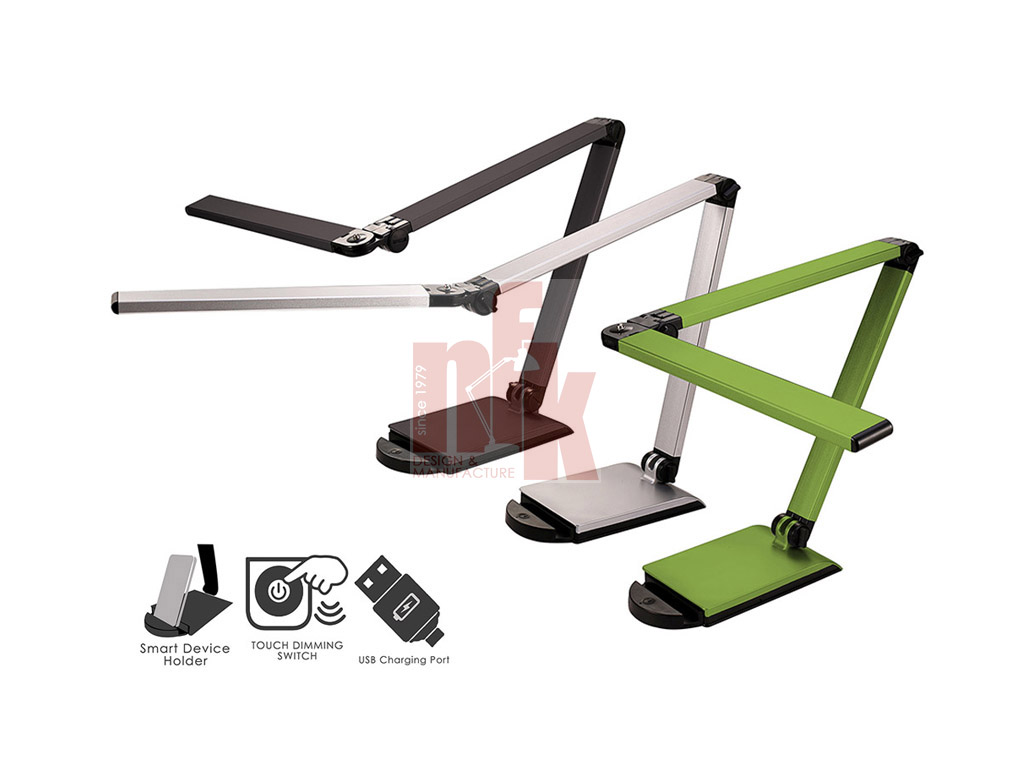 LP863U LED Desk Lamp with USB Charging Port