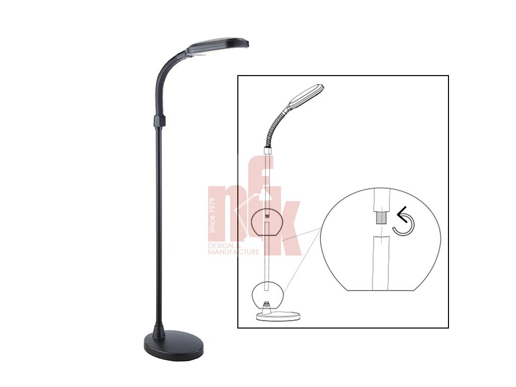 LD028F LED Floor Lamp