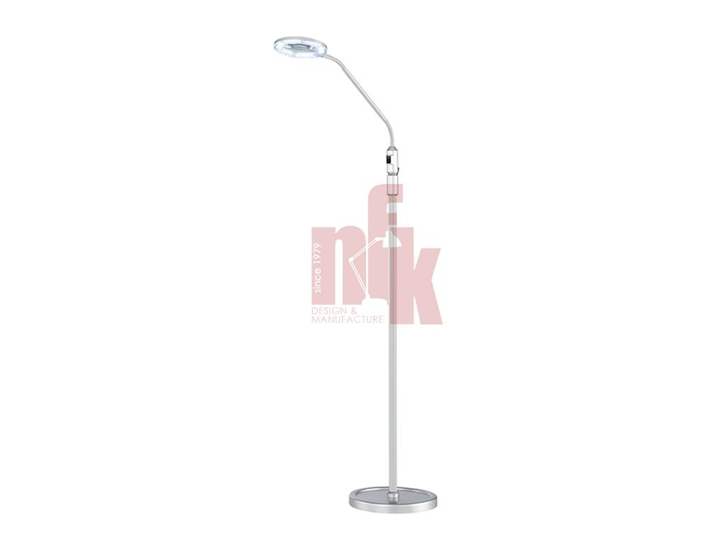 L095F Magnifier Floor Desk Lamp